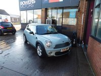 USED 2011 61 MINI HATCH ONE 1.6 ONE D 3d 90 BHP