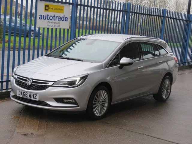 USED 2016 66 VAUXHALL ASTRA 1.6 ELITE CDTI S/S Tourer Full leather Cruise Heated seats & steering wheel DAB Finance arranged Part exchange available Open 7 days