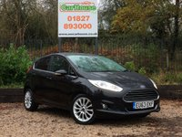 USED 2013 63 FORD FIESTA 1.0 Ecoboost TITANIUM X 5dr Huge Spec, £0 Road Tax