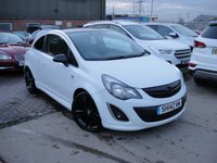USED 2014 14 VAUXHALL CORSA 1.2 LIMITED EDITION 3d 83 BHP ANY PART EXCHANGE WELCOME, COUNTRY WIDE DELIVERY ARRANGED, HUGE SPEC