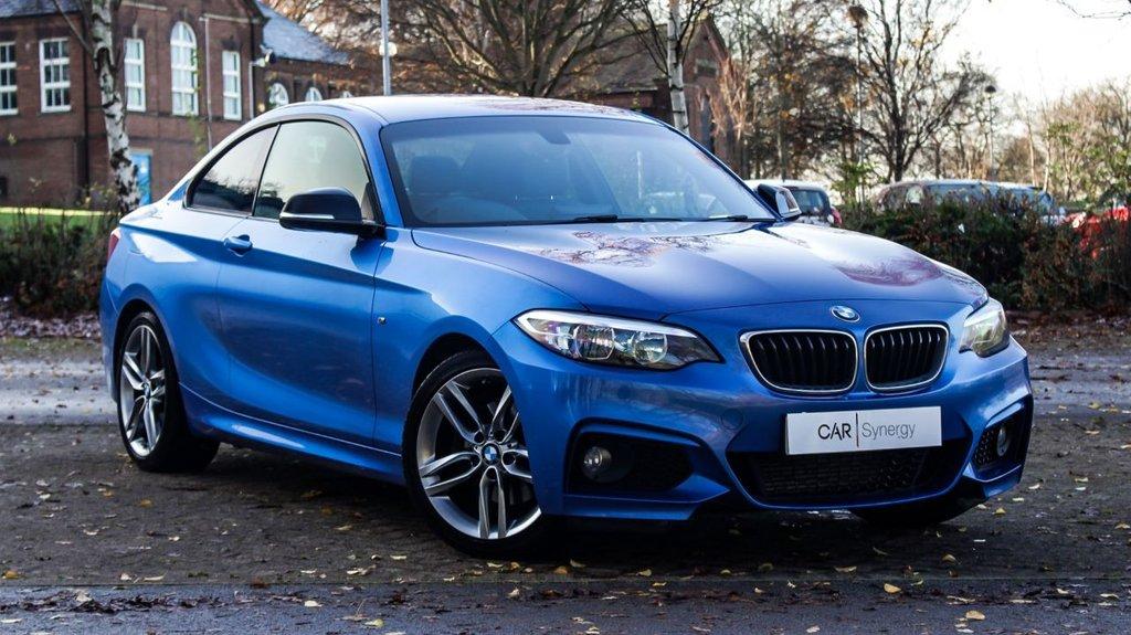 USED 2014 11 BMW 2 SERIES 220D M SPORT