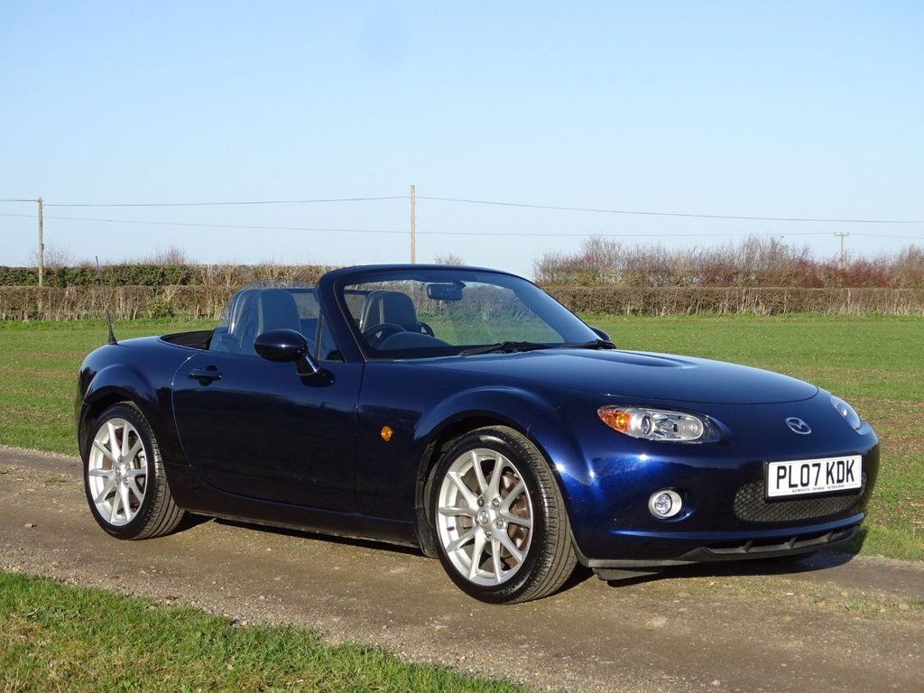 USED 2007 07 MAZDA MX-5 1.8 I 2d 125 BHP Leather Heated Seats Air Conditioning