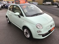 USED 2015 64 FIAT 500 1.2 LOUNGE 3d 69 BHP Great colour, Alloy wheels, Panoramic Glass roof,