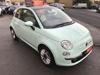 2015 FIAT 500 1.2 LOUNGE 3d 69 BHP £5480.00