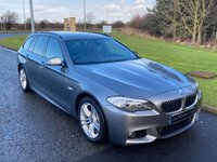 2011 BMW 5 SERIES 2.0 520D M SPORT TOURING 5d 181 BHP AUTO SOLD