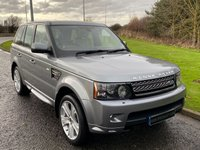USED 2012 12 LAND ROVER RANGE ROVER SPORT 3.0 SDV6 HSE LUXURY 5d 255 BHP SAT NAV, FRONT TV, DAB, HSE LUXURY