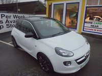 USED 2015 65 VAUXHALL ADAM 1.2 GLAM 3d 69 BHP ** 01922 494874 ** JUST ARRIVED **