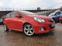 USED 2014 64 VAUXHALL CORSA 1.6 VXR 3d 189 BHP 2KEYS+PAS+HALF LEATHER+MEDIA+