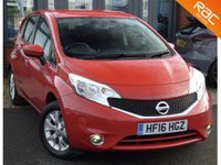 USED 2016 16 NISSAN NOTE ACENTA 1.2 5DR