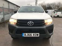 USED 2016 66 TOYOTA HI-LUX 2.4 D-4D ACTIVE 4WD D/CAB PICKUP **NEWSHAPE**