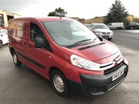 USED 2014 14 CITROEN DISPATCH 1.6 1000 L1H1 ENTERPRISE HDI 89 BHP NO VAT, Full Service History, One Owner Vehicle