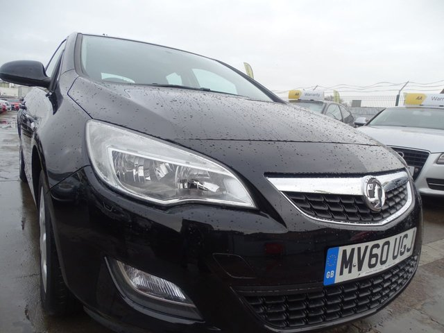 USED 2010 60 VAUXHALL ASTRA 1.6 EXCLUSIV 5d 113 BHP DRIVES A1