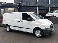 USED 2013 13 MERCEDES-BENZ VITO 2.1 113 CDI 136 BHP Cruise Control & Bluetooth