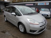 USED 2009 09 CITROEN C4 GRAND PICASSO 1.6 VTR PLUS HDI EGS 5d 107 BHP