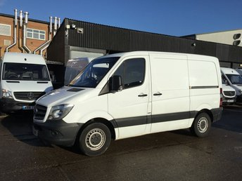 2015 MERCEDES-BENZ SPRINTER 2.1 313CDI SWB LOW ROOF 130BHP AIRCON. Blue EFFICIENCY. PX £9450.00