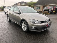 USED 2016 66 VOLKSWAGEN GOLF 1.6 MATCH EDITION TDI BMT 5 DOOR (FREE TAX)