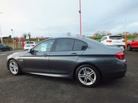 USED 2016 16 BMW 5 SERIES 2.0 520D M SPORT 4d 188 BHP SAT NAV & HEATED SEATS