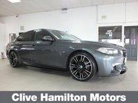 USED 2016 16 BMW 5 SERIES 520D M SPORT FULL M PERFORMANCE KIT 190BHP SAT-NAV HEATED SEATS