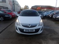 USED 2011 61 VAUXHALL CORSA 1.2 LIMITED EDITION 3d 83 BHP NEW MOT, SERVICE & WARRANTY