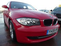 USED 2008 08 BMW 1 SERIES 1.6 116I SE 5d 121 BHP LOW INSURANCE BRACKET
