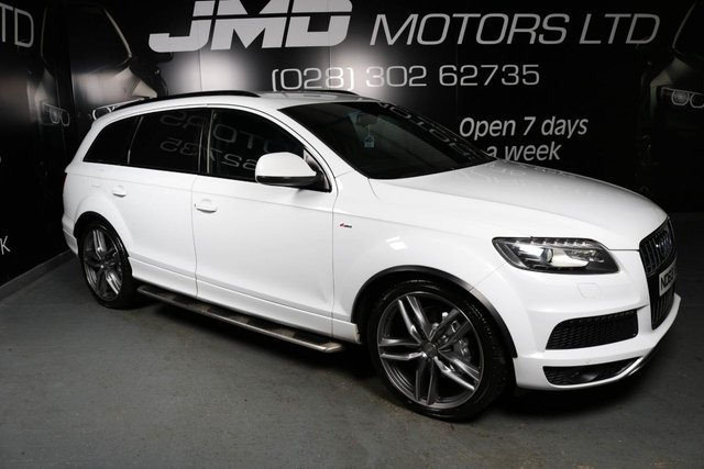 USED 2014 63 AUDI Q7 2014 AUDI Q7 3.0 TDI S LINE BLACK EDITION STYLE 245 BHP ( FINANCE & WARRANTY)