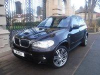 USED 2012 61 BMW X5 3.0 XDRIVE30D M SPORT 5d 241 BHP *** 7 SEATS*** SERVIC EHISTORY*SA TNAV*CRUISE CONTROL*BLUETOOTH*FRONT AND REAR PARKING SENSORS*