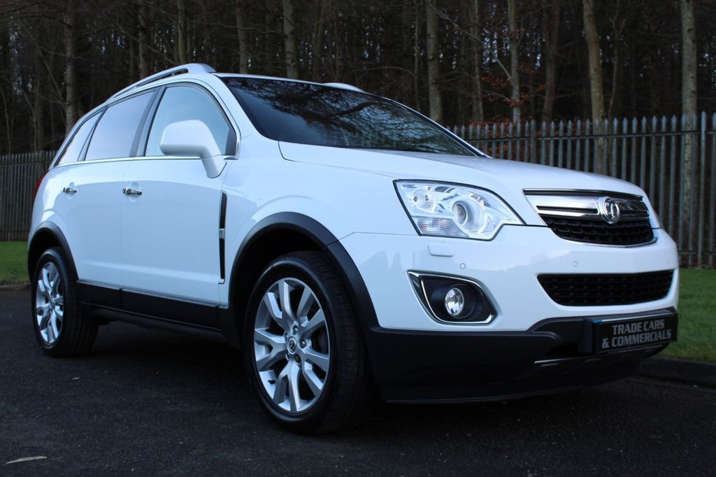 USED 2015 65 VAUXHALL ANTARA SE NAV CDTI S/S A HIGH SPEC LOW OWNER EXAMPLE WITH FULL LEATHER, SAT NAV AND MORE!!!