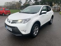 USED 2015 14 TOYOTA RAV4 2.0 D-4D ACTIVE 5d 124 BHP RAV 4 15/2015 WITH ONLY 45000 FSH VERY RELIABLE CAR IN THE BEST COLOUR