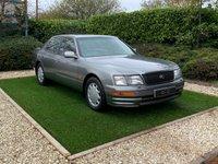 USED 1996 R LEXUS LS 4.0 400 4d 260 BHP