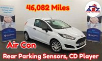 2015 FORD FIESTA  Van 1.5 TDCI 75 BHP in White with Air Conditioning, Rear Parking Sensors, Electric Windows & Mirrors, Full Service History (4 Stamps) and more £4980.00