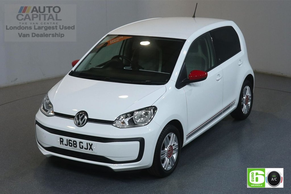 USED 2018 68 VOLKSWAGEN UP 1.0 UP BY BEATS 60 BHP EURO 6 ENGINE AIR CON, ALLOY WHEELS