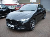 USED 2017 17 MASERATI LEVANTE 3.0 D V6 5d 271 BHP ANY PART EXCHANGE WELCOME, COUNTRY WIDE DELIVERY ARRANGED, HUGE SPEC