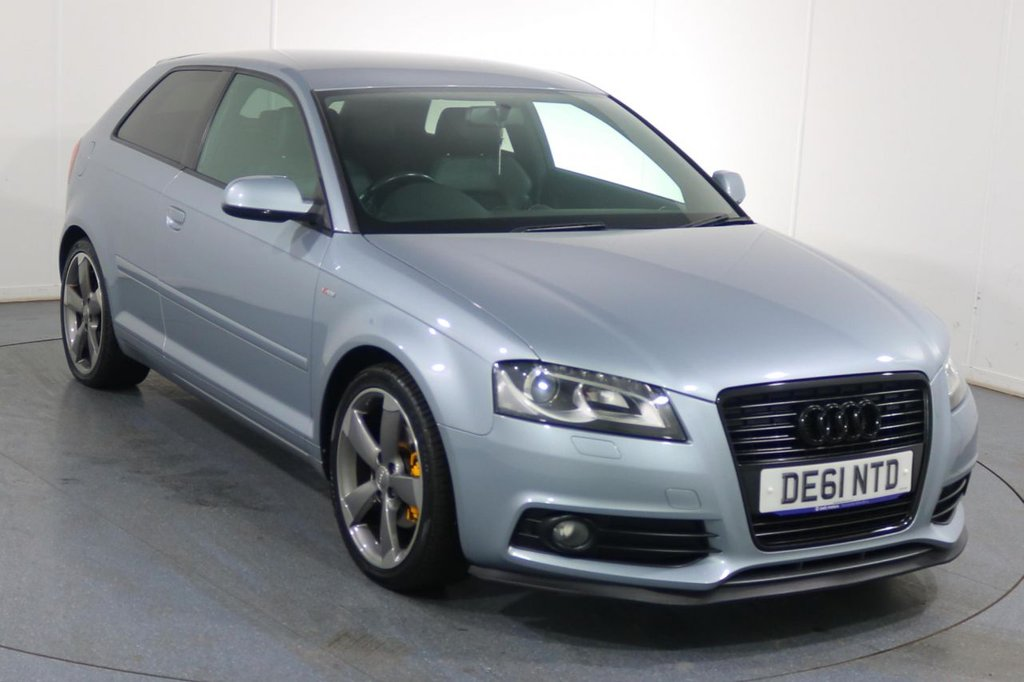 USED 2011 61 AUDI A3 1.8 TFSI S LINE SPECIAL EDITION 3d 158 BHP 9 Stamp SERVICE HISTORY