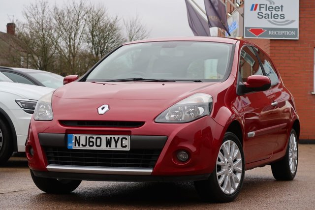 USED 2010 60 RENAULT CLIO DYNAMIQUE TOMTOM 16V SATELLITE NAVIGATION + 6 MONTHS AA WARRANTY INCLUDED