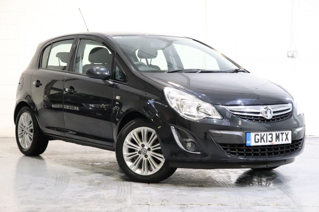 USED 2013 13 VAUXHALL CORSA 1.4 SE 5d 98 BHP Parking Aid + Cruise + Heated Front Seats