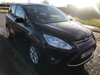 USED 2012 62 FORD C-MAX 1.6 TDCi Zetec 5dr £30 Tax ! 68 MPG ! 2 Keys !