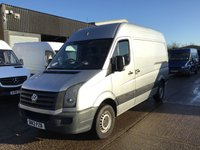 USED 2013 13 VOLKSWAGEN CRAFTER 2.0TDI CR35 MWB HIGH ROOF SILVER. BARGAIN. PX TO CLEAR. SILVER. BARGAIN PRICE. CHEAPEST 2013 IN UK... PX