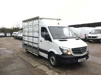 USED 2016 16 MERCEDES-BENZ SPRINTER 2.1 313CDI MWB WINDOW GLASS RACK CARRIER FRAIL VAN. PX WINDOW GLASS CARRIER FRAIL RACK. LOW 49K MILES. PX