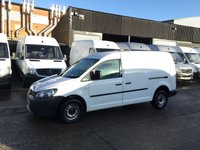USED 2011 61 VOLKSWAGEN CADDY MAXI 1.6TDI C20 LONG BLUEMOTION TECHNOLOGY 102BHP. BARGGAIN. 1 PREVIOUS OWNER. CHEAPEST MAXI LONG IN UK. PX