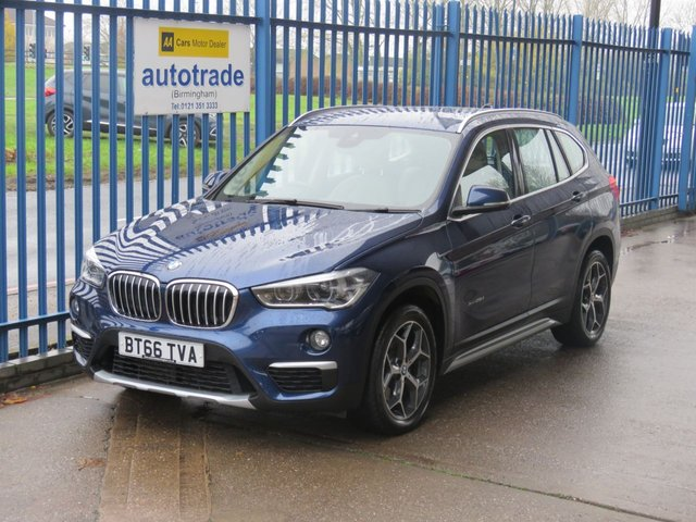 USED 2016 66 BMW X1 2.0 XDRIVE25D XLINE Auto Sat nav Full leather DAB Heated seats Finance arranged Part exchange available Open 7 days