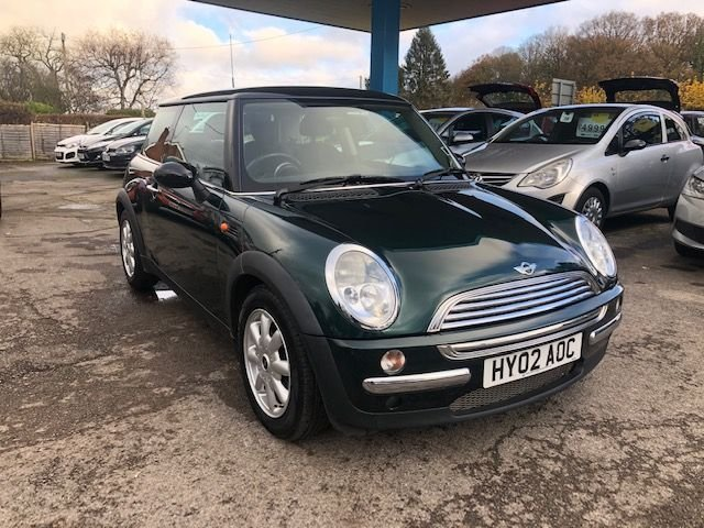 USED 2002 02 MINI HATCH COOPER 1.6 COOPER 3d 114 BHP