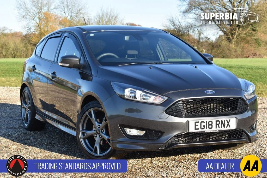 USED 2018 18 FORD FOCUS 1.5 ST-LINE X TDCI 5d 118 BHP