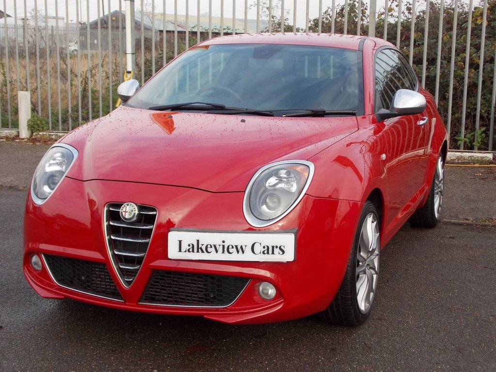 USED 2014 63 ALFA ROMEO MITO 1.4 TB MULTIAIR SPORTIVA 3d 135 BHP ** SPECIAL FACEBOOK ONLY OFFER ** ... OWN FROM AS LITTLE A ZERO DEPOSIT AND £89 P/M (full details available on request - subject to T&C's and acceptance)