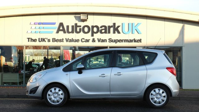 USED 2011 11 VAUXHALL MERIVA 1.7 S 5d 99 BHP LOW DEPOSIT OR NO DEPOSIT FINANCE AVAILABLE