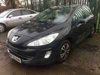 USED 2009 09 PEUGEOT 308 1.6 S 5d 118 BHP ALLOYS CRUISE A/C MOT 02/20 GREY MET WITH BLACK CLOTH TRIM. ALLOYS. COLOUR CODED TRIMS. CLIMATE CONTROL WITH AIR CON. R/CD PLAYER. MOT 02/20. AGE/MILEAGE RELATED SALE.  P/X CLEARANCE CENTRE - LS23 7FQ. TEL 01937 849492 OPTION 3
