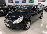 USED 2008 58 VAUXHALL CORSA 1.2 LIFE A/C 5d 80 BHP
