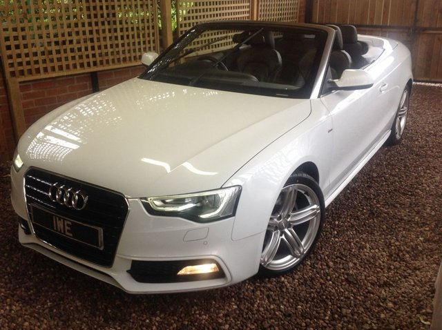 2013 63 AUDI A5 2.0 TDI S LINE SPECIAL EDITION 2d 175 BHP CONVERTIBLE