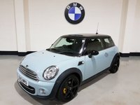 2013 MINI HATCH COOPER 1.6 COOPER 3d 122 BHP SOLD