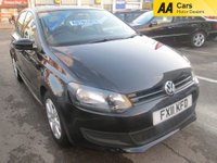 USED 2011 11 VOLKSWAGEN POLO AUTOMATIC 1.4 SE DSG 5d 85 BHP