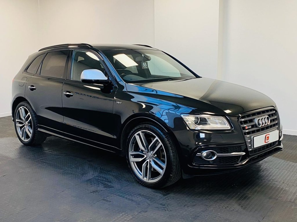 USED 2016 16 AUDI SQ5 3.0 TDI QUATTRO 5d 322 BHP LOW MILES + 21 INCH ALLOYS + LEATHER + B&O MUSIC + TECH PACK